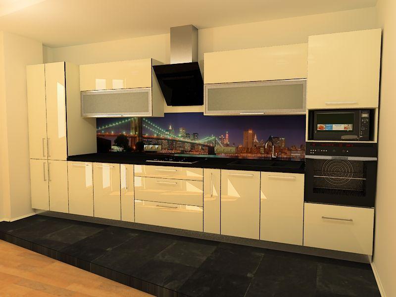 Кремовая кухня фото